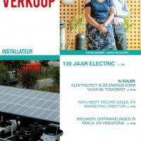 interview Patrick in elektro verkoop (vakblad voor de installateur)