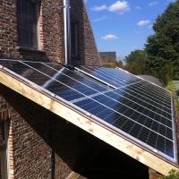 zonnecarport aangebouwd 2