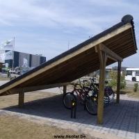 Fietsenstalling greenbridge Oostende