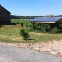 zonnecarport 3.78 kWp