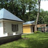 tuinhuis met zonnepanelen