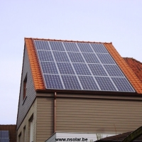 Zonnepanelen ingewerkt 3.6kwp