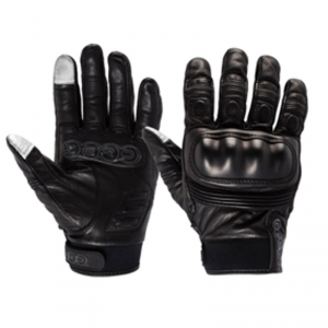 Tech Short Leather Gloves